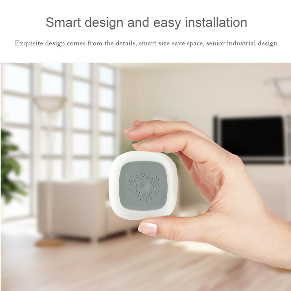 HAOZEE Z-wave Temperature & Humidity Sensor Smart Home EU Version 868.42mhz Z wave Smart detector
