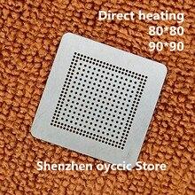 Riscaldamento diretto 80*80 90*90 JHL6240 JHL6340 JHL6540 DSL6340 BGA Stencil Template