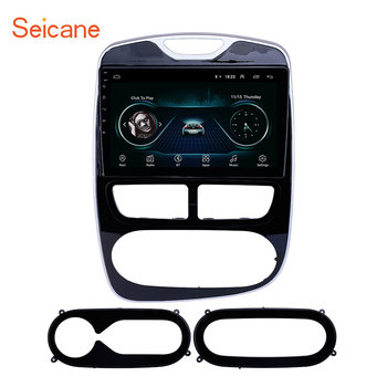 Seicane 10.1 inch Android 8.1 Car GPS Navigation Radio Unit Player for 2012-2015 2016 Renault Clio Digital/Analog support OBD2