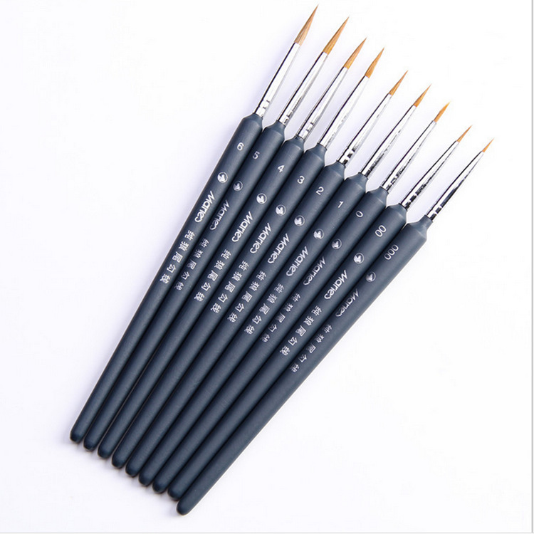 Maries Hand Watercolor Scriptliner Hook Line Drawing Paint Brush Painting Brush Pen Painting Supplies