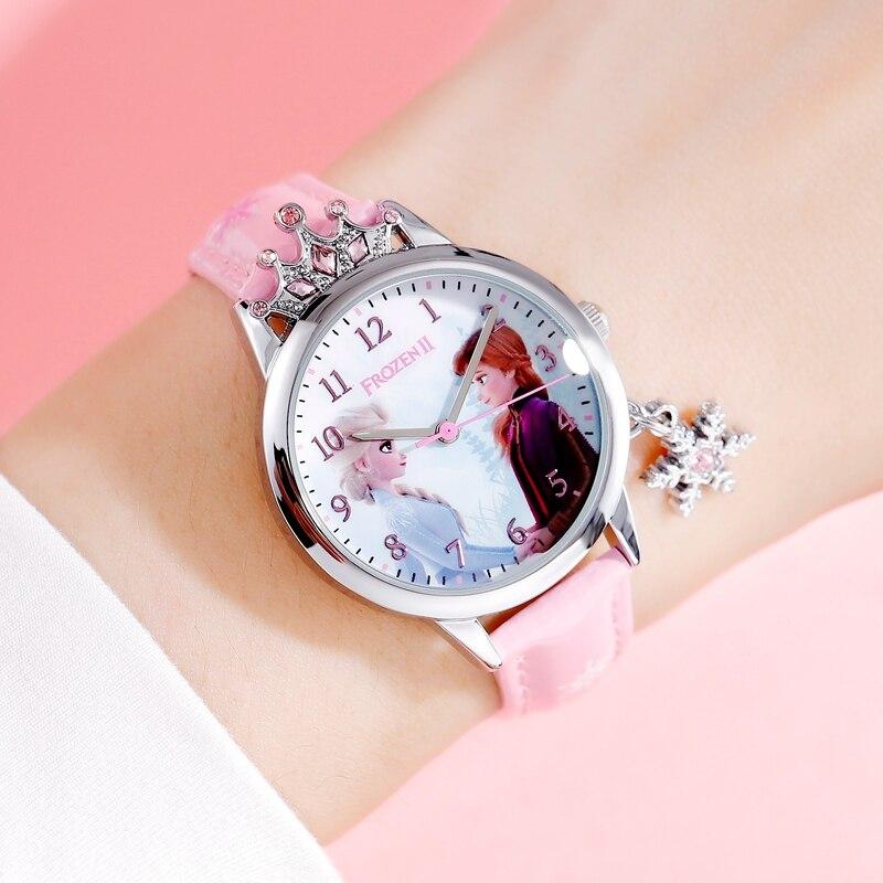 Большой распродажа женские замороженные роскошь ювелирные изделия кристалл корона принцесса часы девушка любовь кварц часы женщины мода наручные часы женщина время