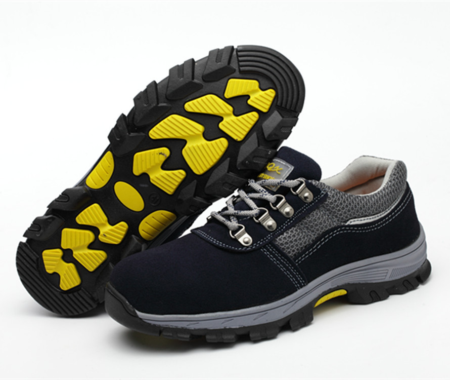 Currently Available Wholesale Safety Shoes Summer Breathable Safety Shoes Protective Shoes Anti-smashing And Anti-penetration Re