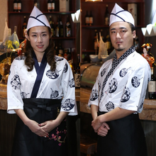 Clothing Chef-Uniform Cook-Apron Kitchen-Clothes Hotel Restaurant Professional Japanese-Style