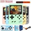 800 игр, игрушка для детей, портативная мини-консоль для видеоигр, Мини Ручной игровой плеер, Электронная игровая консоль