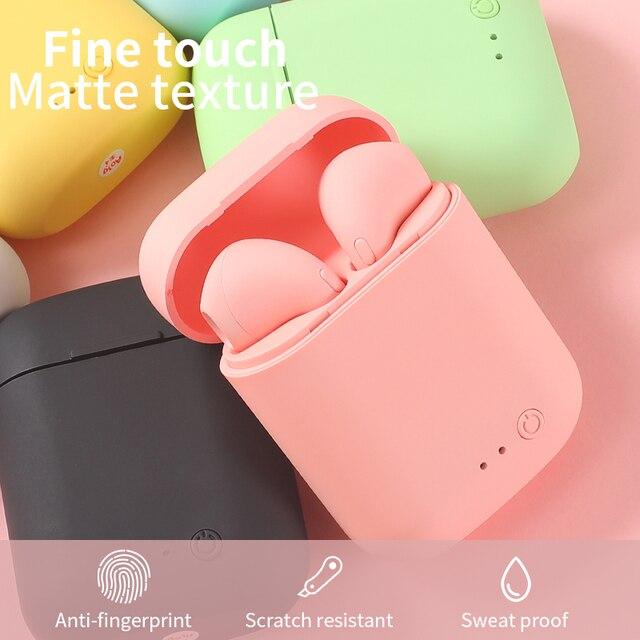 Mini-2 TWS Wireless Earphones Bluetooth 5.0 Sports Headset Gaming Earbuds For Iphone Samsung Huawei Oppo Music Headphones Xiaomi 2