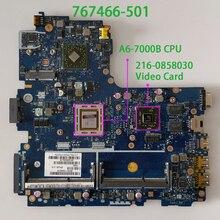 767466 501 767466 601 767466 001 LA B191P 2GB גרפיקה w A6 7000B מעבד 216 0858030 GPU עבור HP 445 מחשב נייד האם מחשב נייד