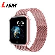 T80 Vrouwen Slimme Horloge Armband Bloeddruk Hartslagmeter Fitness Tracker Band Smartwatch Voor Android