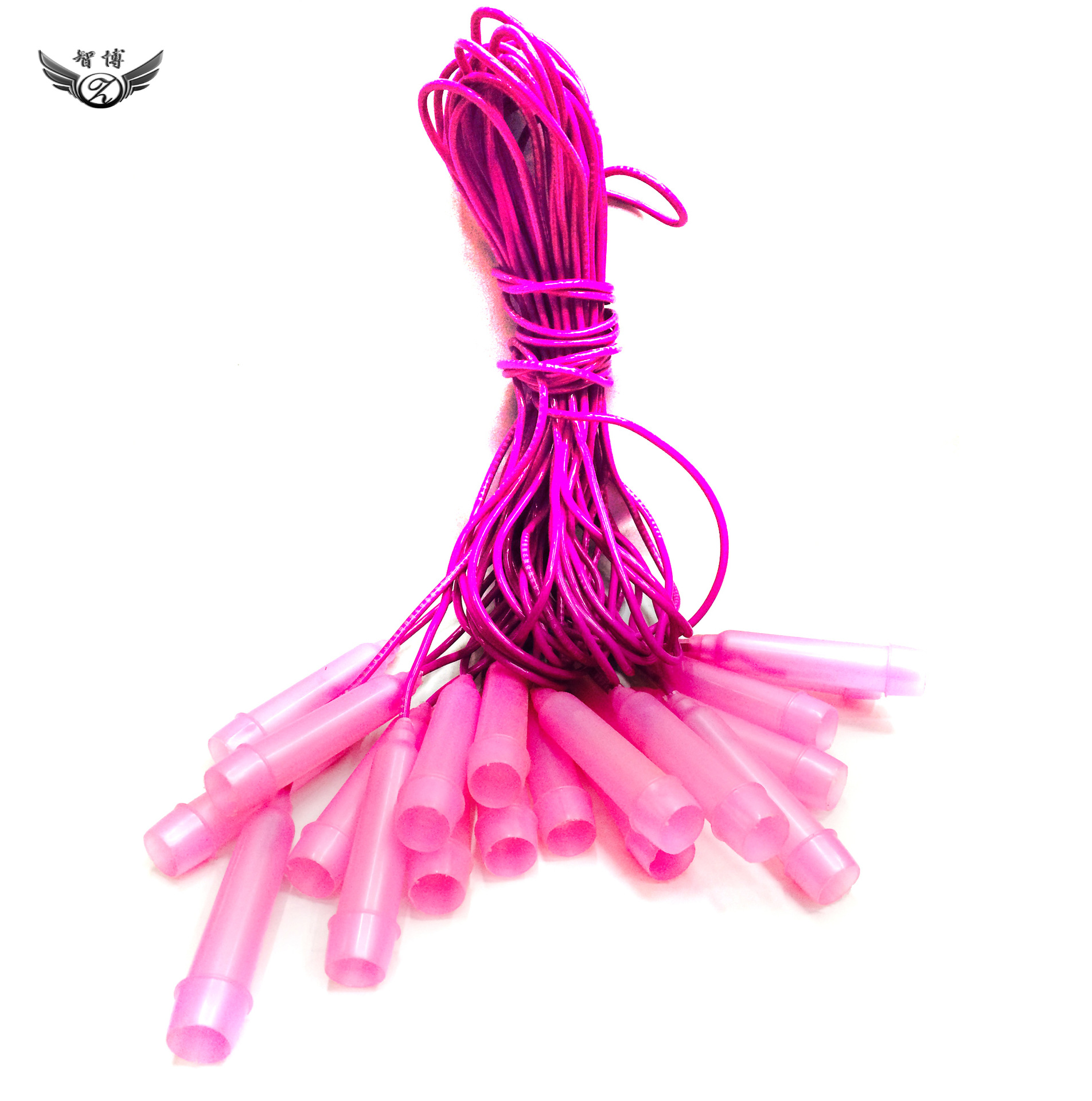 In Bulk Skipping Rope With Plastic Handle Zb01 Pink/Blue Extra-value Jump Rope Best Seller Genuine Product