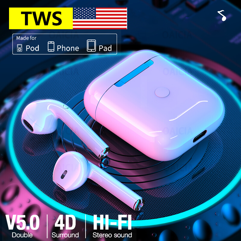 Original <font><b>i9s</b></font> <font><b>TWS</b></font> Wireless Headphones Bluetooth Earphone <font><b>Air</b></font> Earbuds Sport Handsfree Headset With Charging Box For iPhone Android image