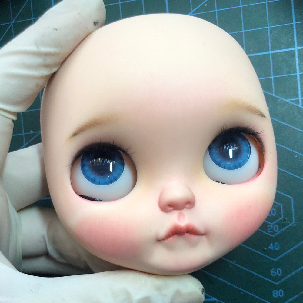Blyth Doll Face Plate For Diy Your Blyth Makeup Including Back Plate Customization Doll Nude Blyth