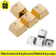 Key-Cap ARROW Mechanical-Keyboard WASD Zinc-Alloy Keypress for MX Axis Metal Pervious-To-Light