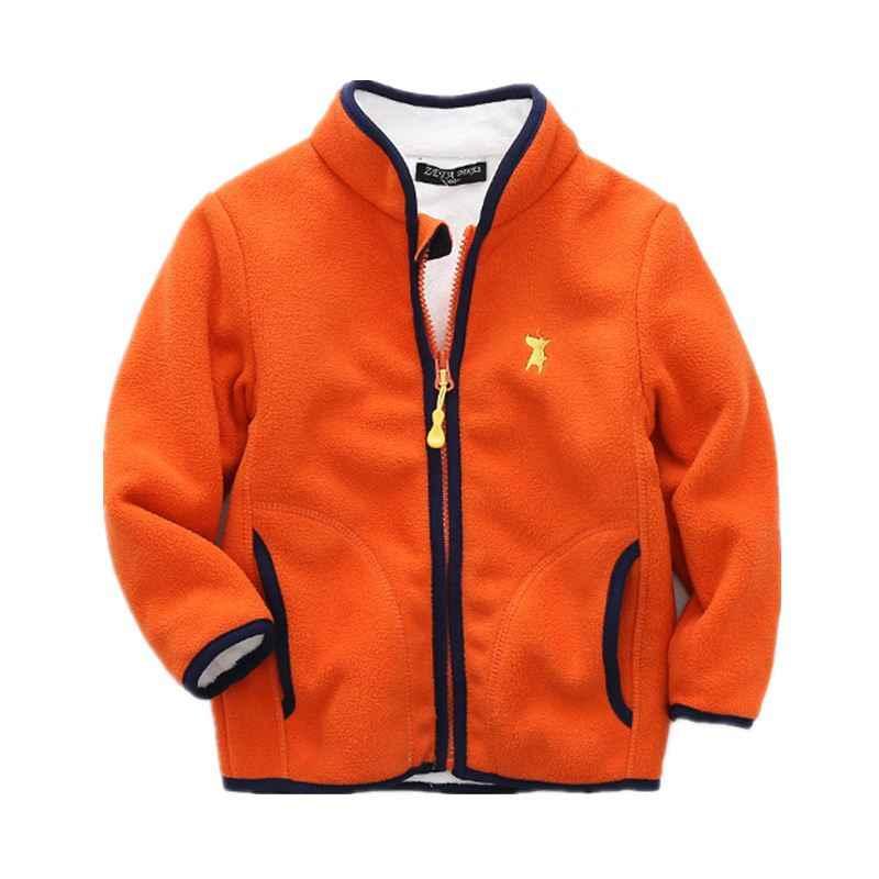 เด็กขนแกะ Hoodies เสื้อกีฬาฤดูหนาวหนาอบอุ่นเด็ก Coral กำมะหยี่ Outerwear เสื้อเด็กทารกสาว CYF079