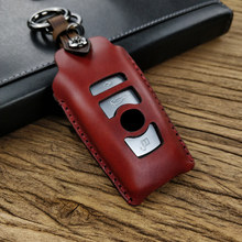 New key case for car Hand sewing Hollow out for BMW 1 3 4 5 6 7 Series X1 X3 X4 X5 X6 M3 M5 F20 F30 F10 E90 E60 E30 F10 F20 F30