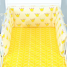 Bumper Safe Bed Bebe-Cot Fence-Line Detachable Crib Zipper U-Shaped 170x30cm Infant Baby