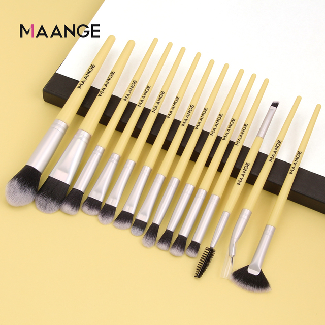 Makeup brushes set professional 12/14 pcs/lot Makeup Brushes Set Eye Shadow Blending Eyeliner Eyelash Eyebrow Brush For Makeup