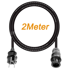 Mars Rock 2M or 5M 14 AWG AC Power Extension Cord, with 3 Core Connector and EU Plug,  TUV UL Approved for Solar Micro Inverter