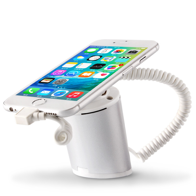 Mobile Security Charging And Alarm ABS Display Holder Stand With Clamp For Apple Android USB Type C Phone Anti Theft In Shop