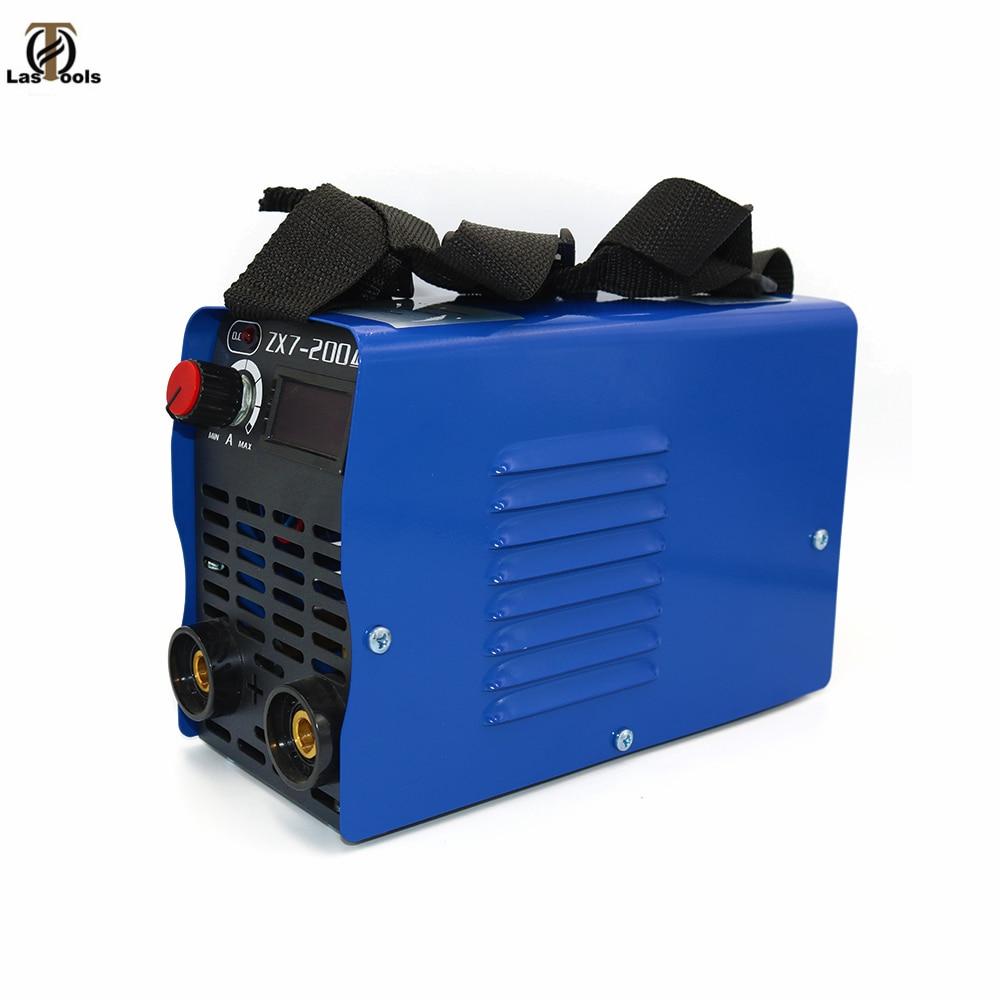 New Zx7-200 Dc Inverter ARC Manual Welding Machine Welding Tools For Home Beginner Lightweight Efficient Power Stabilized Weld