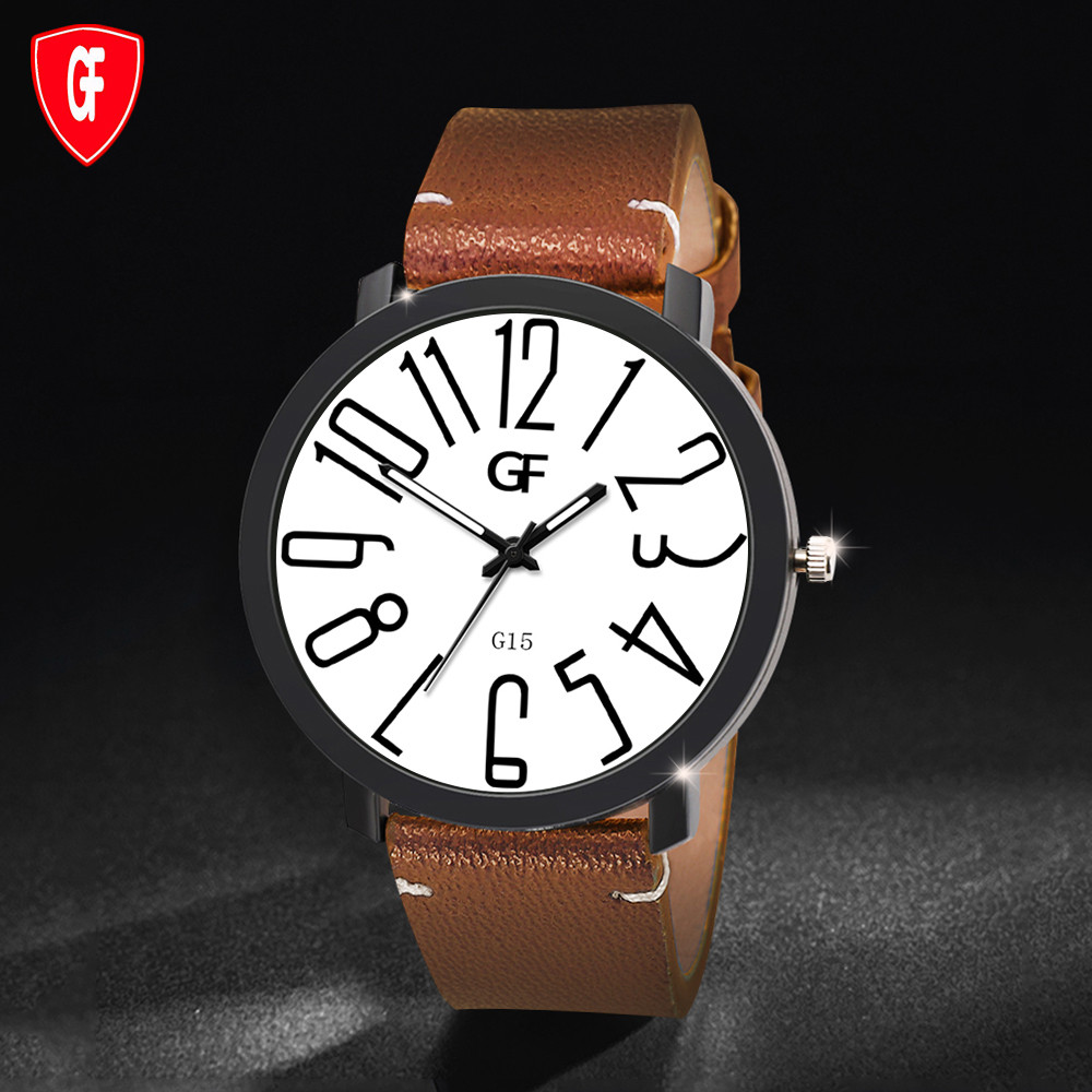 2019 Men Quartz Watch Relogio Masculino Hot Man Leather Watch Whatever Late Anyway Letter Watches New Pointer Glow Montre Homme