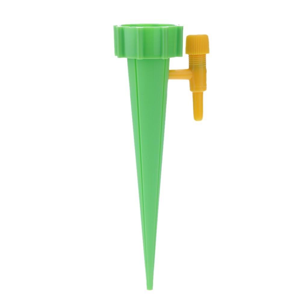 1-30 шт./компл. автоматического полива Спайк зеленый капельного полива и орошения Системы автоматического полива Спайк для цветочных растений в помещении инструмент для полива - Цвет: 1pc Green