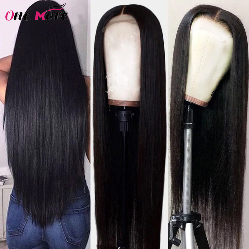 250% Density Straight Human Hair Wigs For Woman Brazilian Straight Remy Hair Free Part Human Hair Wigs Perplucked With Baby Hair