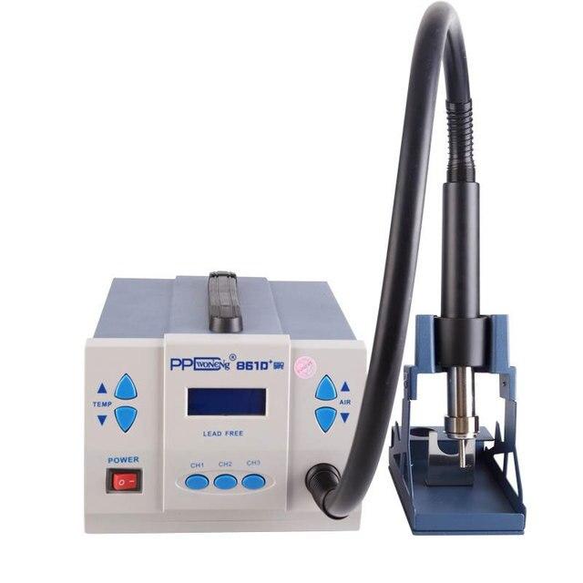 PPD 861D 1000 واط قوة كبيرة الحرارة بندقية الرصاص FreeSmart شاشة تعمل باللمس التحكم درجة حرارة ثابتة شاشة الكريستال السائل محطة desolding