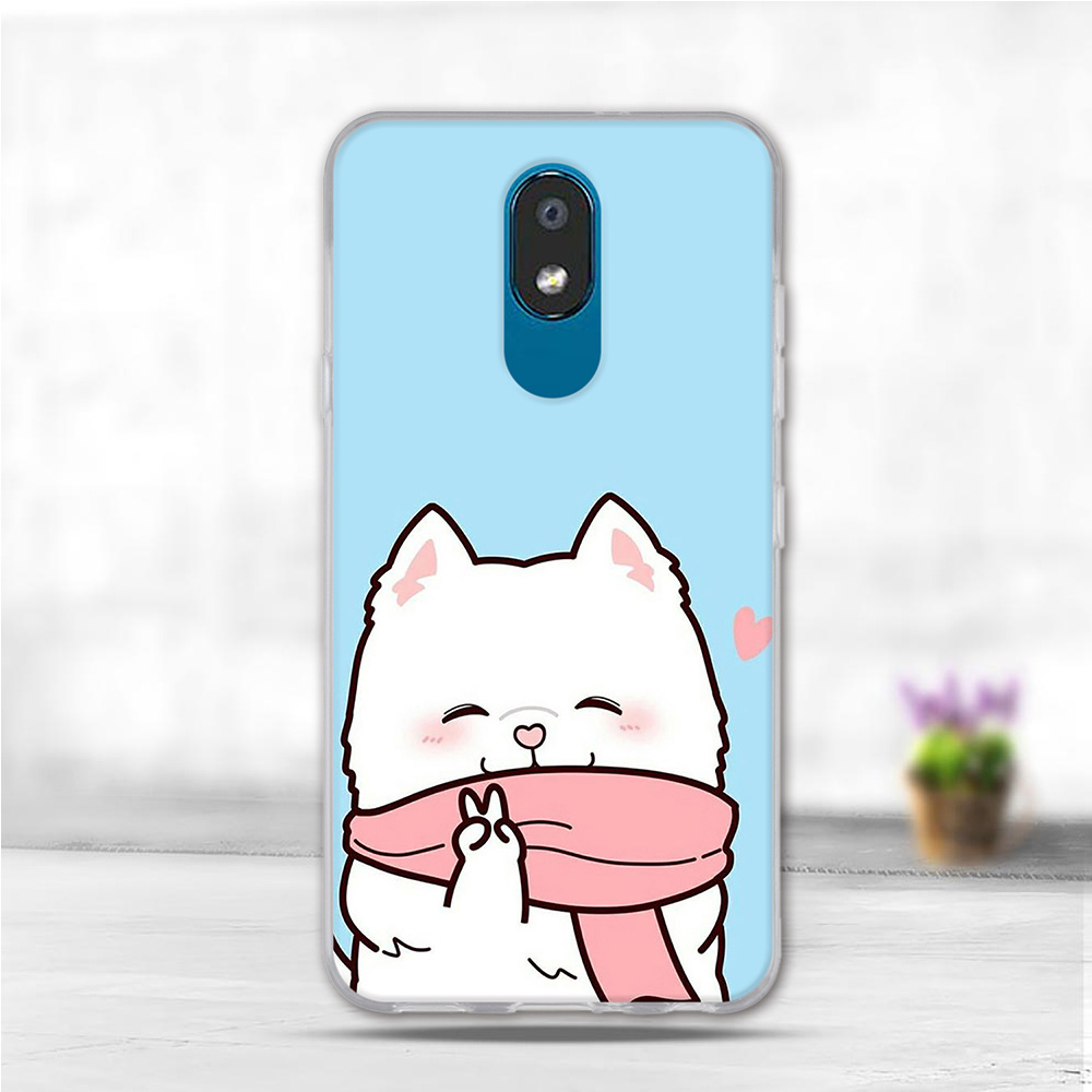 Silicone Case For LG K30 2019 Case Flowers Animal Soft TPU Back Cover For LG X2 2019 Cases Cell Phone Capa K30 2019 Funda Coque