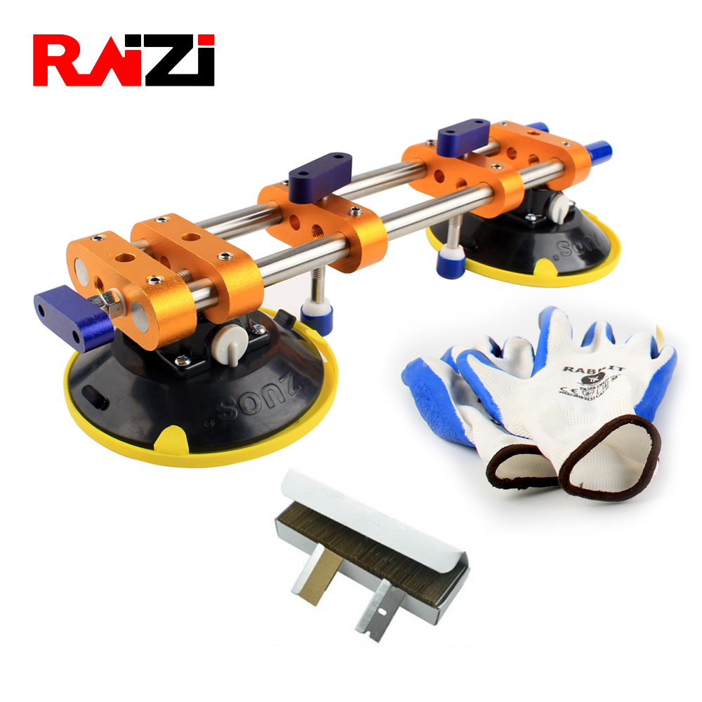 Raizi Stone Seamless Seam Setter For Jointg&Leveling With 6 Inch Vacuum Suction Cups Granite Worktop Installation Tools