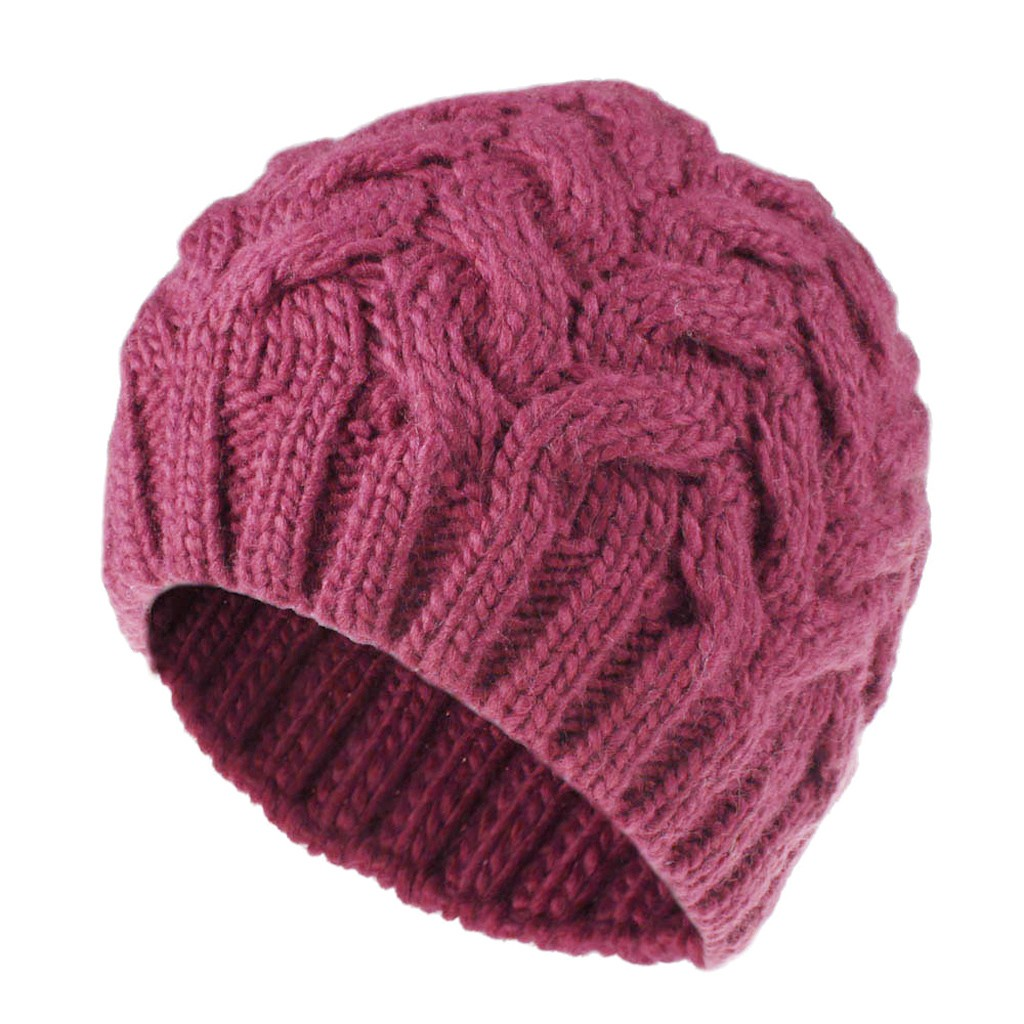 SAGACE Women's Twist Braided Wool Cap Variety Of Styles, Solid Color, High Quality, Versatile Leisure Winter Autumn Comfortable