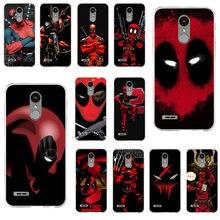 Marvel Hero Deadpool Soft Phone Cases for LG V10 V20 V30 V40 K40 K50 Q6 Q7 Q8 Q6