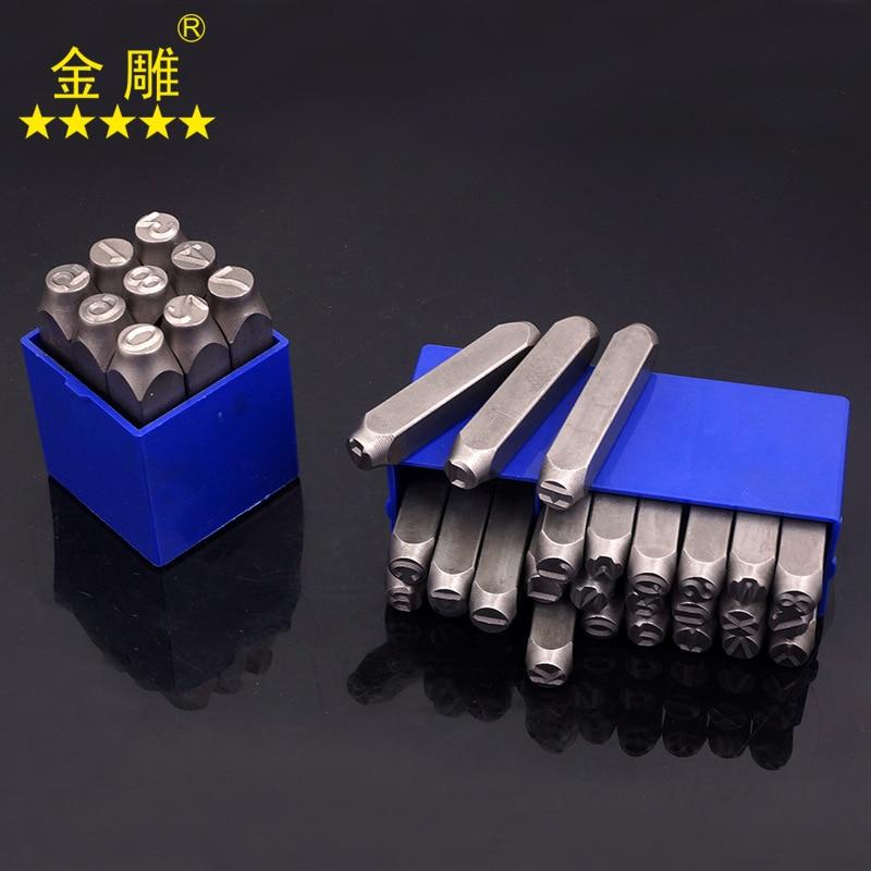 Golden Eagles очень жесткий стальной уплотнитель банда zi ma с цифрами английская надпись символ набор банда zi tou банда hao ma матрица кожа P