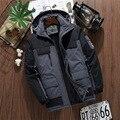 Модная мужская куртка 2020, зимнее бархатное плотное пальто с капюшоном, Мужская ветрозащитная и водонепроницаемая уличная одежда для альпин...
