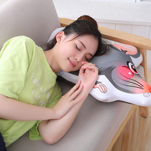 50CM cartoon double-sided printing mouse pillow cute plush toy sleeping pad soft bag doll birthday gift