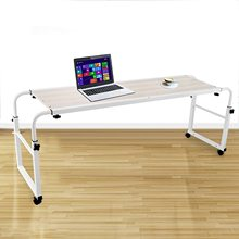 1M Cross Home Rolling  bed computer deskAdjustable  Bed Working Table  Laptop Computer Desk Table  for Laptop Study Work