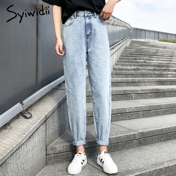 high waist jeans woman plus  2