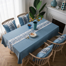 The New Factory Direct Waterproof Nordic Coffee Table Tablecloth Fabric Cotton Hipster Tablecloth Imitation Linen Table c20 id waterproof direct factory card