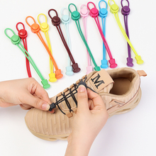Round Shoelaces Elastic Snap-Lock Sports Women And No-Tie Young Hiking Suitable-For