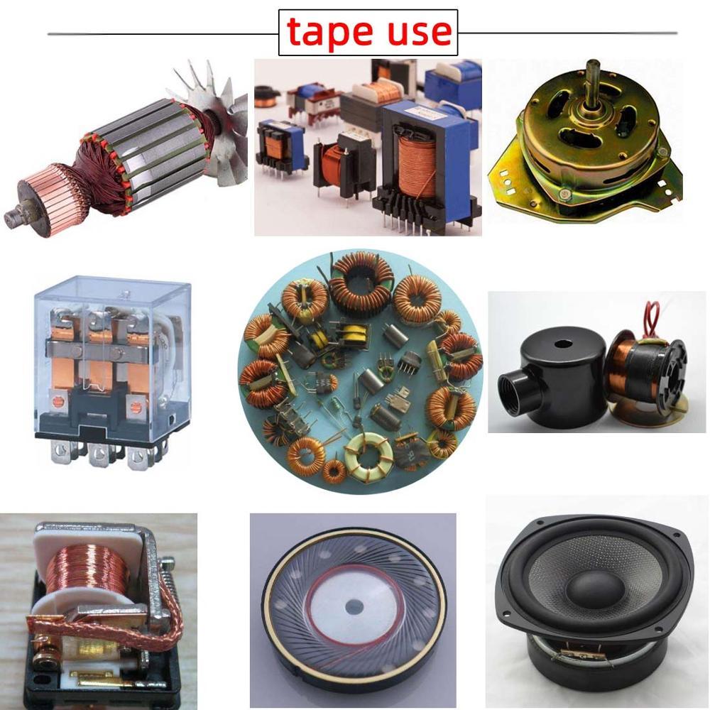 Image 2 - Fil émaillé 2uew fil de cuivre émaillé  0.04 à 1.5mm 155/500 fil soudé direct, fil de cuivre émaillé en polyuréthane/gFils et câbles   -
