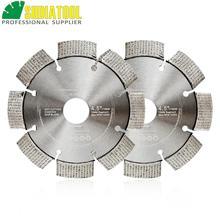 """Diatool 2 шт. Профессиональный лазерной сварки Алмазный диск одел алмазной колеса диаметр 22.23 мм жесткий материал Dia 4."""" 5"""" доступны"""