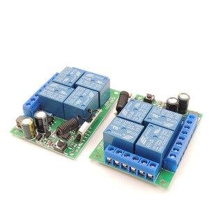 Image 5 - Controle remoto 433mhz 220v 4ch 10a, receptor de relé e transmissor para controle remoto de garagem e controle remoto interruptor de luz