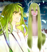 Anime Fate Grand Order Cosplay Wigs Enkidu Wig Synthetic Hair Halloween Carnival Party Game