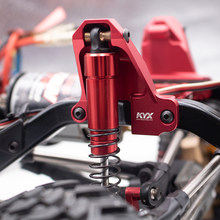 Kyx Aluminum Front Shock Torre + Rear Choque Torre para 1/10 TRX-4 Traxxas rc car(China)