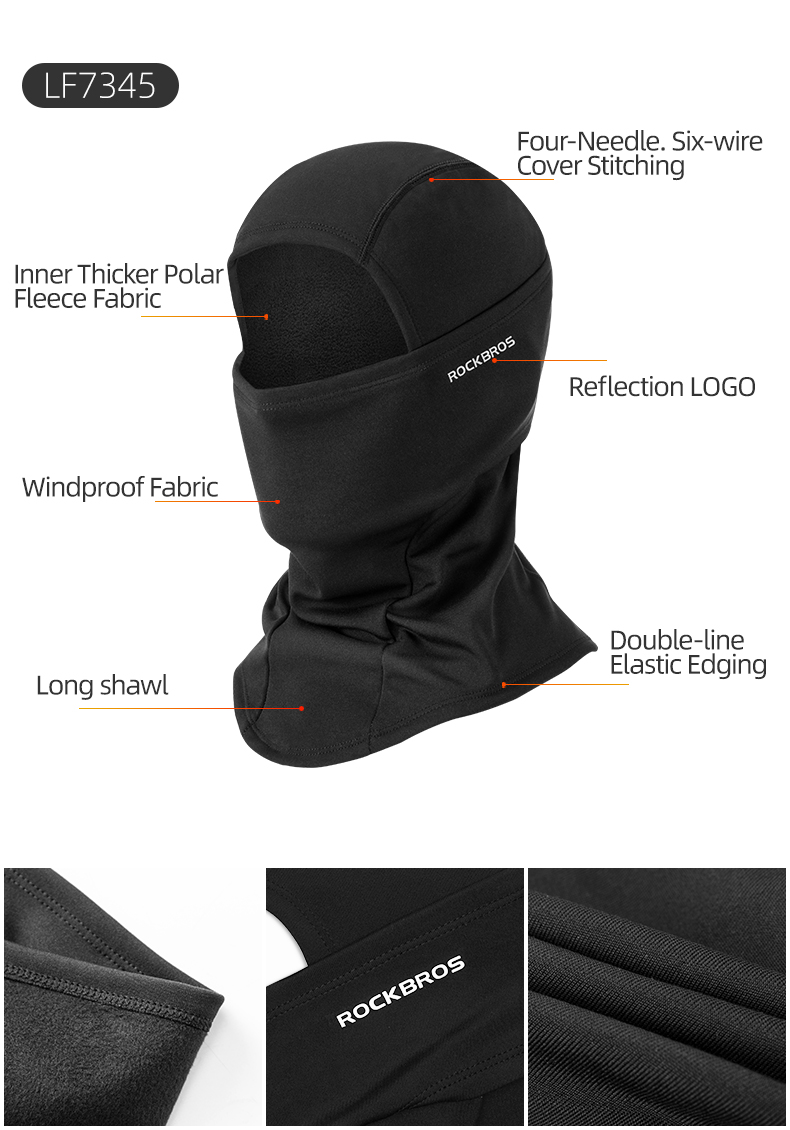 H7bb99ac9f58248e18fd105c671898297v - Winter Ski Mask Cycling Skiing Running Sport Training Face Mask Balaclava Windproof Soft Keep Warm Half Face Mask