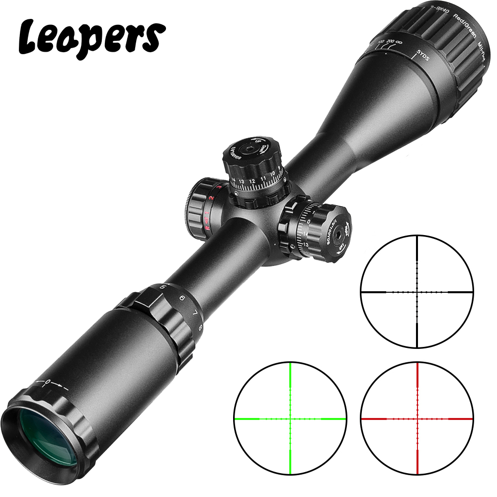 Leaper 3-9X40 mira Rifle óptico táctico Riflescope rojo verde azul mira de Mira retica iluminada mira de francotirador de caza Nuevo medidor de potencia óptica de batería recargable de alta precisión G7, pantalla LCD a Color, medidor de potencia de fibra óptica con luz de flash OPM