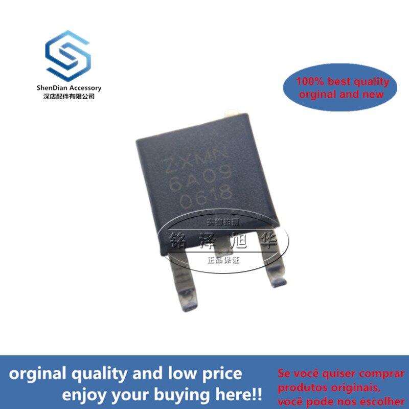 10pcs 100% Orginal New Best Qualtiy ZXMN6A09KTC ZXMN6A09  60V TO252 MOS 60V N-CHANNEL ENHANCEMENT MODE MOSFET IN DPAK