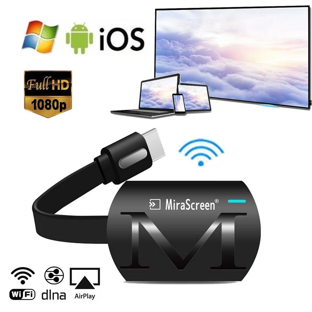 Hot MiraScreen G4 WiFi Display Receiver TV Dongle Miracast DLNA Airplay 1080P HD