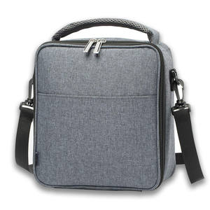 Heopono Cooler-Box Lunch-Bag Fashion Zippered Crossbody Fitness Nice-Design Aluminum
