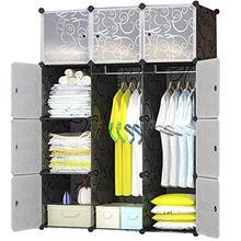 Dany Children's Wardrobe and Shelving System, Plastic