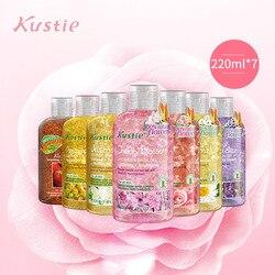 Kustie Blütenblatt Bad Tau Körper Waschen Dusche Gel Familie Anzug dame Lange anhaltende Duft und Feuchtigkeitsspendende Bad Emulsion gel douche