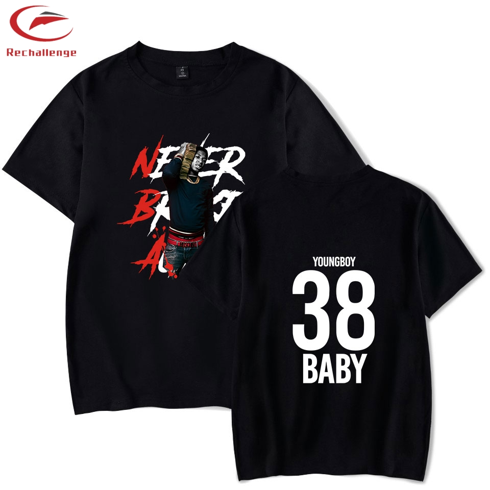 YoungBoy Never Broke T Shirts Again Men's New Print Casual T-Shirt Clothes Trend 2019 Men's Fashion Short Sleeve Clothes
